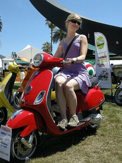 for the love of vespa