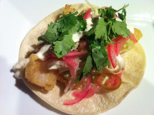 California style fish tacos for California fish tacos